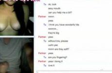 Tieners masturberen voor de webcam