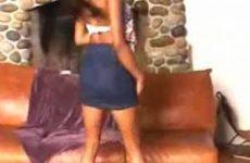 Amateur striptease